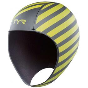 TYR Hi-Vis - Gorros de natación - amarillo/negro